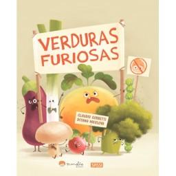 Libros ilustrados. Verduras furiosas