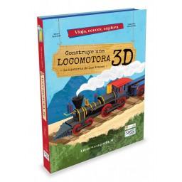 Viaja, conoce, explora - Motor. Construye una locomotora - 3D. Historia de los trenes