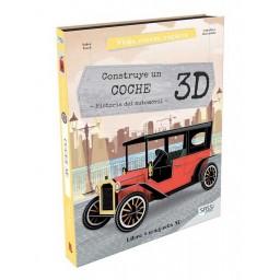 Viaja, conoce, explora - Motor. Construye un coche - 3D. Historia del automóvil