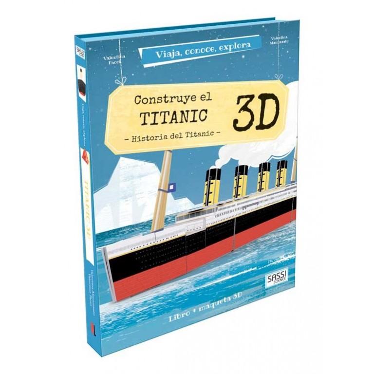 Viaja, conoce, explora - Motor. Construye el Titanic - 3D. Historia del Titanic