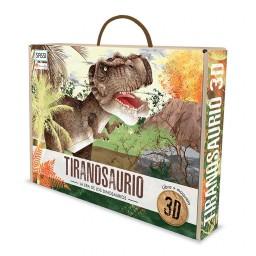La era de los dinosaurios. Tiranosaurio - 3D