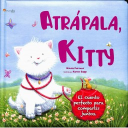 Mini Libros Para Regalar. Atrápala, Kitty