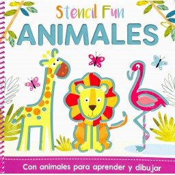 Stencil Fun. Stencil Fun Animales