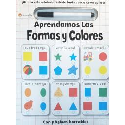 Borrar Y Escribir. Aprendamos Las Formas Y Los Colores