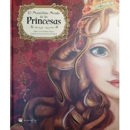 Libros Ilustrados. Maravilloso Mundo De Las Princesas