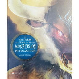 Libros Ilustrados. Maravilloso Mundo De Los Monstruos Mitológicos